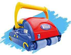 Робот пылесос для домашнего бассейна Aquabot Viva